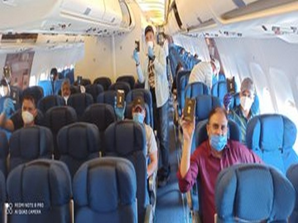 Stranded Indian nationals on board Ariana Afghan Airlines flight from Kabul to New Delhi on Friday