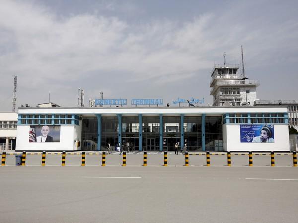 Hamid Karzai International Airport in Kabul, Afghanistan