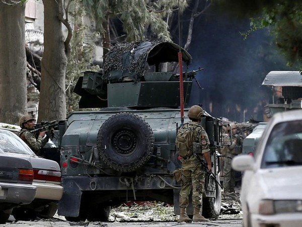 Visuals from the site of attack in Kabul on May 8 (Photo/ Reuters)