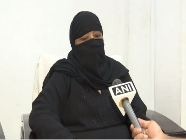 Khatija Begum, mother of an Indian national attacked by Pakistani national in Saudi Arabia. (Photo/ANI)