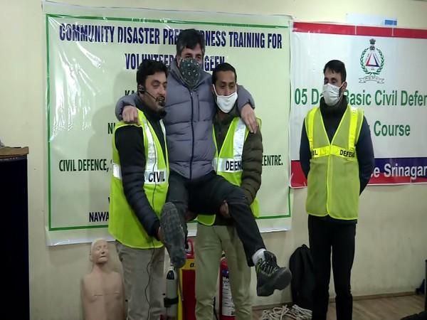 Community-based disaster preparedness training program organized in Kashmir Valley