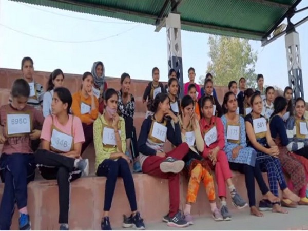 Visual from the recruitment drive in Kathua