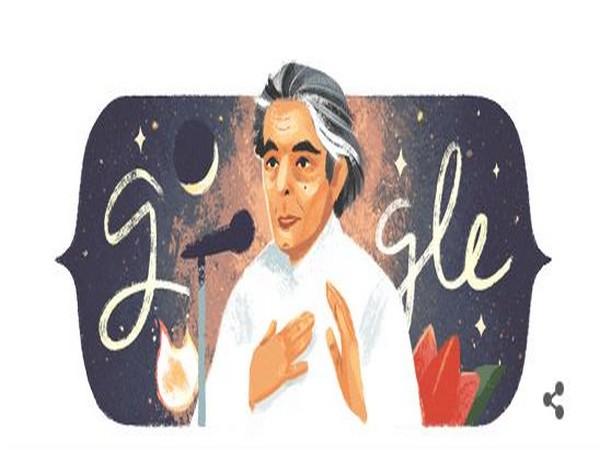 Google doodle celebrates Kaifi Azmi on his birth anniversary