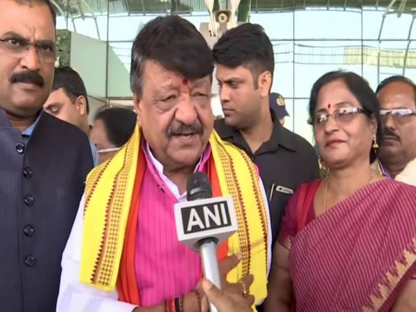 BJP general secretary Kailash Vijayvargiya speaks to ANI in Bhubaneswar in Odisha on Wednesday. Photo/ANI