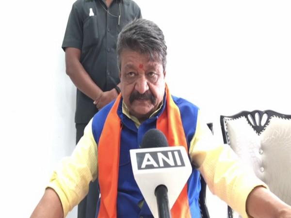BJP leader Kailash Vijayvargiya speaking to ANI on Sunday.