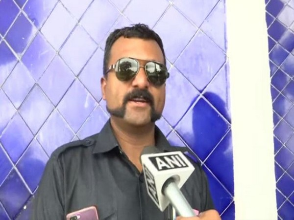 Kailash Pawar, a policeman in Bhopal has styled his moustache like Wing Commander Abhinandan.