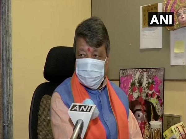 BJP General Secretary and West Bengal In-charge Kailash Vijayvargiya speaking to ANI in New Delhi on Wednesday. (Photo/ANI)