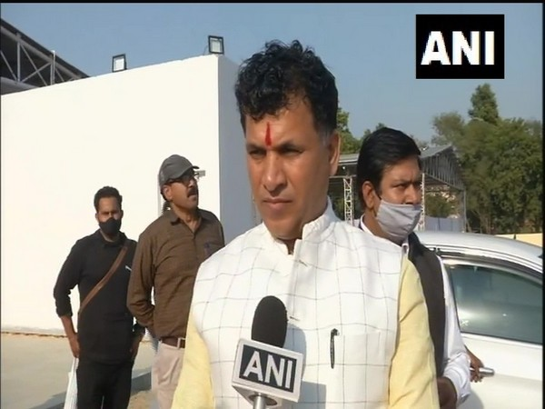 Minister of State (MoS) for Agriculture Kailash Choudhary speaking to ANI in New Delhi on Thursday. (Photo/ANI)