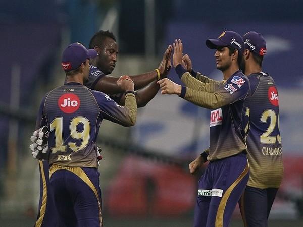 Kolkata Knight Riders player celebrating the win (Image: BCCI/IPL)