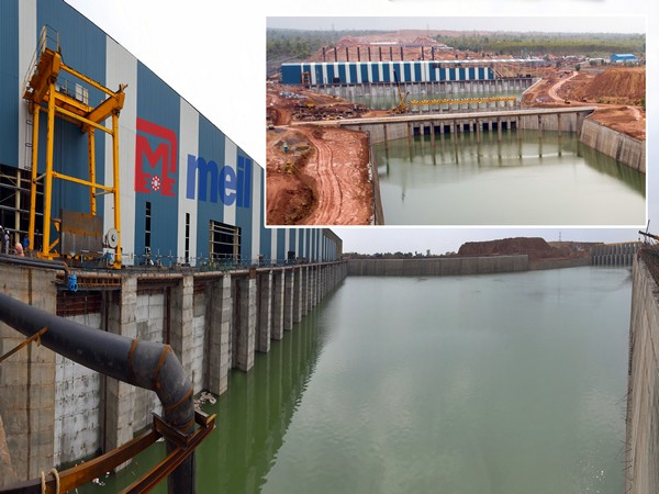 Kaleshwaram Lift Irrigation Project. File photo/ANI