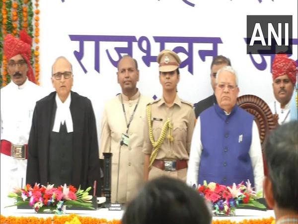 Kalraj Mishra on Monday took oath as the Governor of Rajasthan at Raj Bhawan in Jaipur.