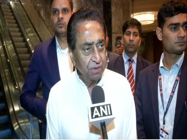 Kamal Nath speaking to ANI in New Delhi on Friday.