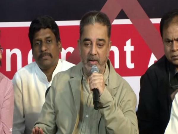 Makkal Needhi Maiam leader Kamal Haasan