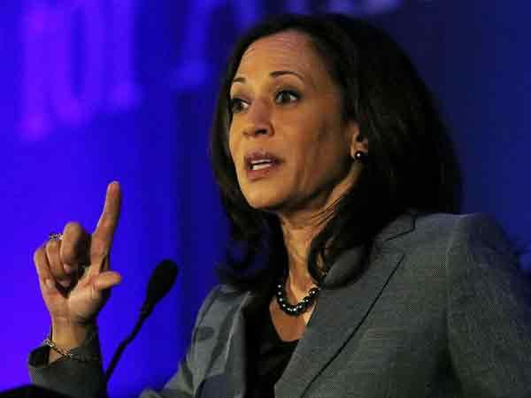 Democratic Senator and 2020 Presidential candidate Kamala Harris (File Photo)