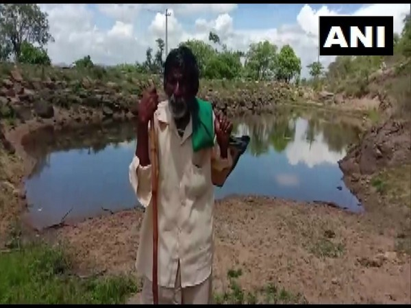 Kame Gowda is also known as Kere (lake) Gowda for his contribution to curb water crisis. Photo/ANI