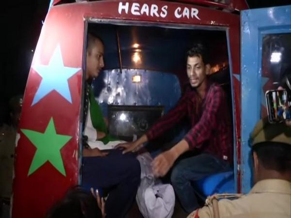 Body of KamleshTiwari was taken to his native place in Mahmudabad, Sitapur.