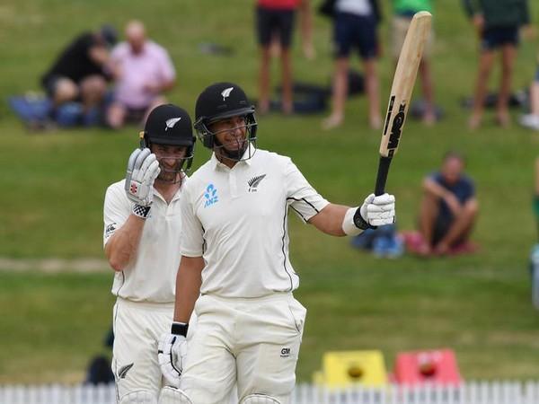 New Zealand Skipper Kane Williamson and batsman Ross Taylor
