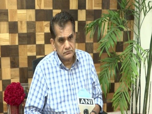 NITI Aayog CEO Amitabh Kant in an interview with ANI on Sunday.