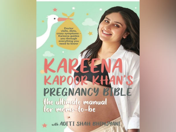The cover of Kareena Kapoor Khan's book 'Pregnancy Bible' (Image source: Instagram)