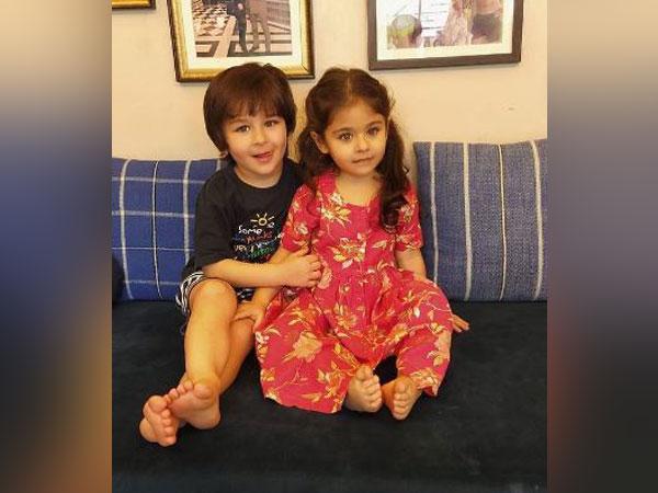 Taimur Ali Khan with Innaya Naumi (Image Source: Instagram)