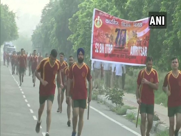 Visuals from 'Run for Marty' in Amritsar, Punjab.