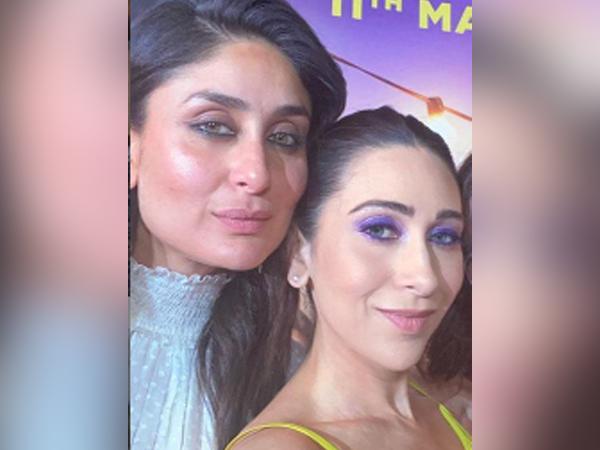Celebrity sisters Kareena and Karisma Kapoor (Image Source: Instagram)