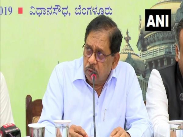 Congress leader Dr G Parameshwara