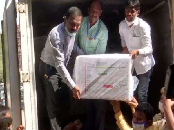First consignment of COVID-19 vaccine arrives at Bengaluru (Photo/ ANI)