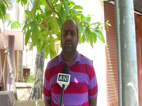 Ajay Kumar Sharma, environmentalist, talking to ANI. (Photo: ANI)