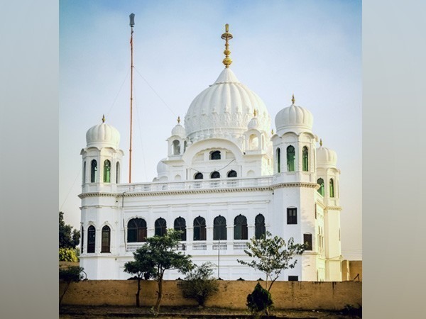 A view of Kartarpur Sahib gurdwara