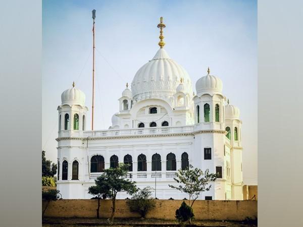 Sikh shrine Gurudwara Darbar Sahib in Kartarpur
