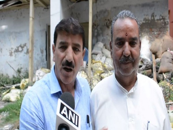 Gulam Rasool Bhat says people have been living with peace in Mattan area of Anantnag in Jammu and Kashmir. (Photo/ANI)