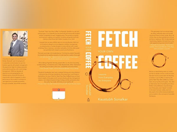 Cover of Kaustubh Sonalkar's book 'Fetch Your Own Coffee'