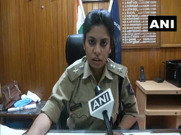 V Katiyar, Superintendent of Police (SP) Dharwad talking to ANI on Monday