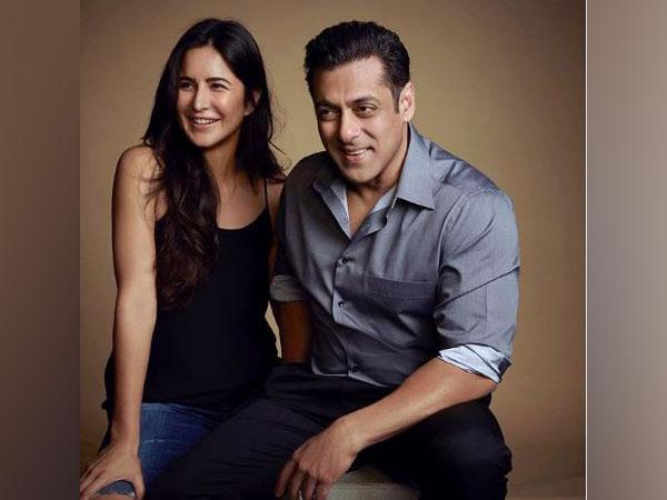 Katrina Kaif and Salman Khan (Image source: Instagram)