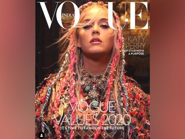 American Singer-Songwriter Katy Perry
