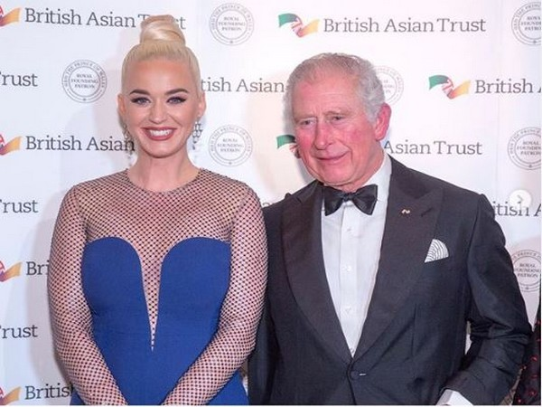 Singer Katy Perry with Prince of Wales (Photo: Katy Perry Instagram)