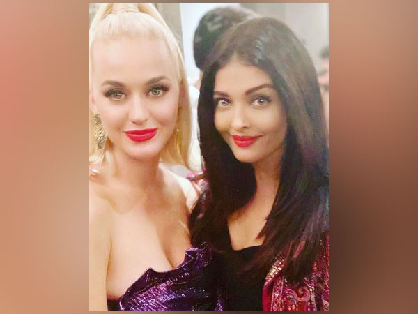 Aishwarya Rai documents her party time with Katy Perry