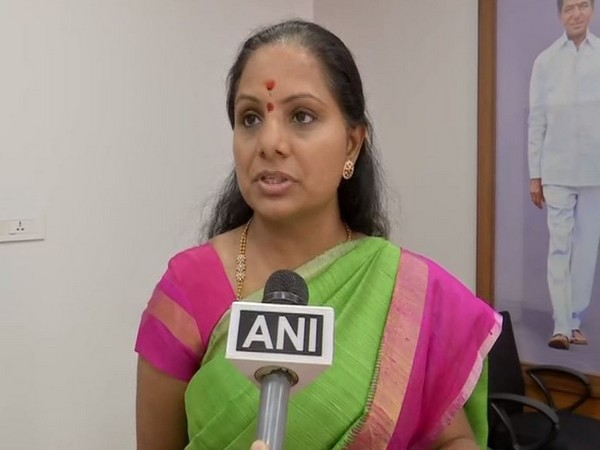 TRS MP K Kavitha