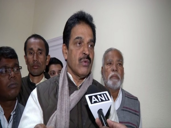 Congress leader KC Venugopal talking to ANI in New Delhi on Monday. Photo/ANI