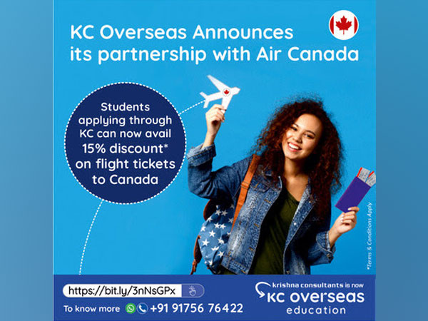 Students who make the flight bookings on or before 31st October 2021 and schedule their travel to Canada on or before 31st December 2021 will be able to avail the discount