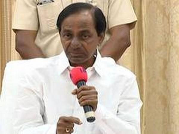 Telangana Chief Minister K Chandrashekhar Rao (File Photo/ANI)