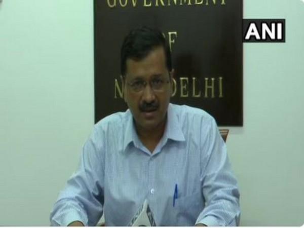 Delhi Chief Minister Arvind Kejriwal addressing a digital press conference in New Delhi on Tuesday.