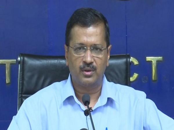 Delhi CM Arvind Kejriwal addressing press conference in new Delhi on Thursday