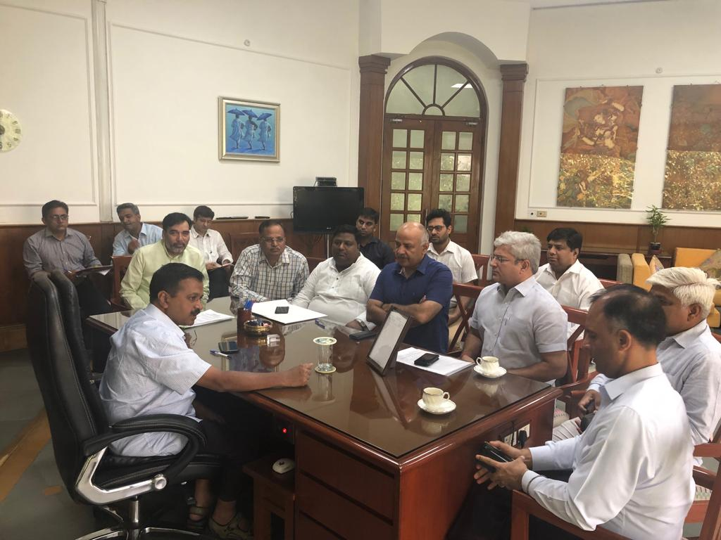 Delhi Chief Minister Arvind Kejriwal holding Cabinet meeting on Monday