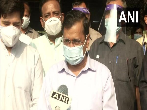 Delhi CM Arvind Kejriwal speaking to ANI on Wednesday. (Photo/ANI)
