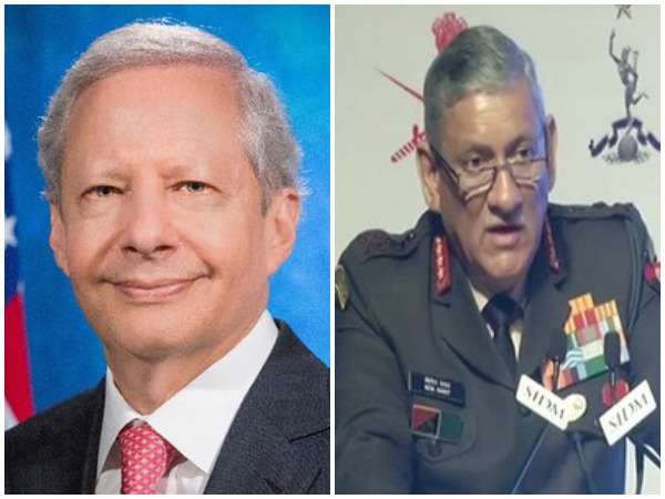 US Ambassador to India Kenneth Juster and Army Chief Bipin Rawat (File pics)