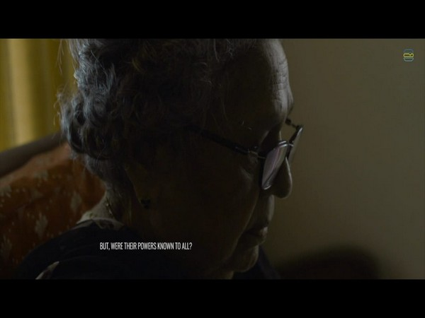 A grab from the short film