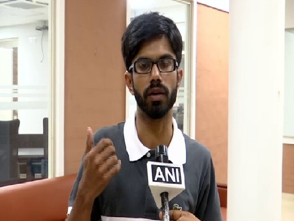 Disaster analyst Fahad Marzook speaking to ANI in Trivandrum on July 17. Photo/ANI