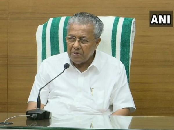 Kerala Chief Minister Pinarayi Vijayan. File photo/ANI